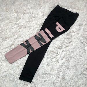 VS Pink Colorblock Leggings